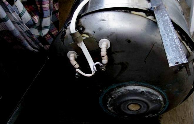 электрокоптильня из стиральной машины