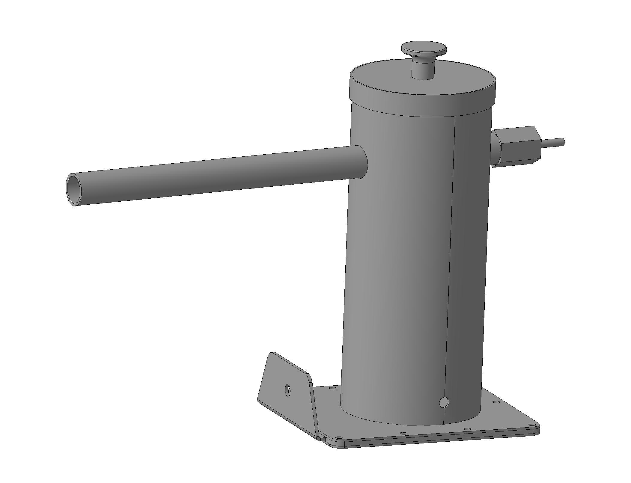 Дымогенератор для холодного копчения из трубы