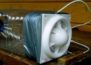 компрессор из форточного вентилятора