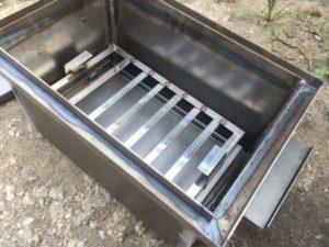 Коптильня из листового металла 3 мм