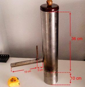 устройство дымогенератора с нижней подачей дыма