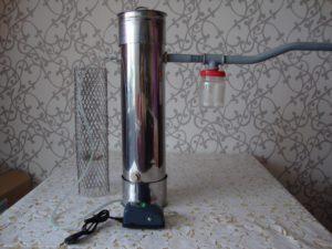 Печка дымогенератор для коптильни