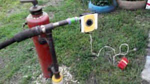 Самодельный дымогенератор из огнетушителя