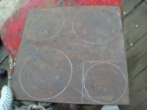 Круг из металлического листа