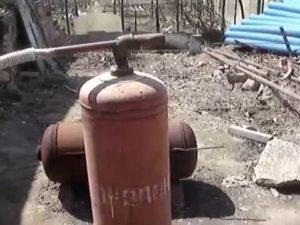 Дымогенератор из газового баллона
