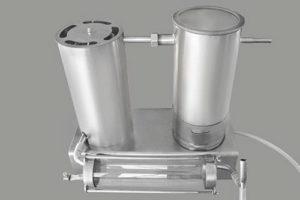 Вариант дымогенератора с внешним охладителем