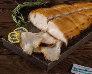 Масляная рыба копченая