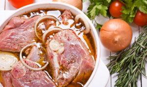 Маринование мяса
