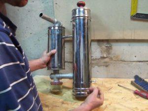 Дымогенератор с очисткой дыма