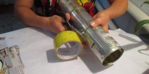 Изготовление дымогенератора из консервных банок