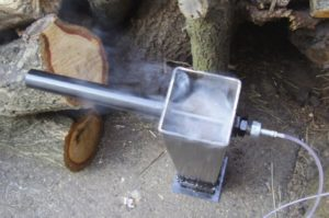 Копчение дымогенератором