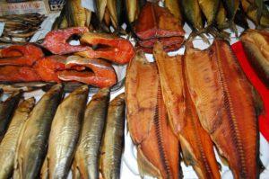 Копченые рыбы