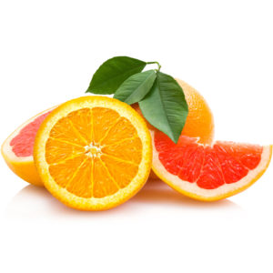 апельсин и грейпфрут