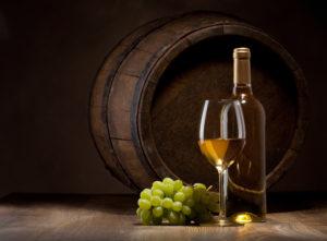 С белым вином