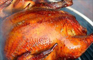 Горячее копчение курицы