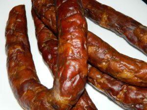 Домашняя колбаса холодного копчения
