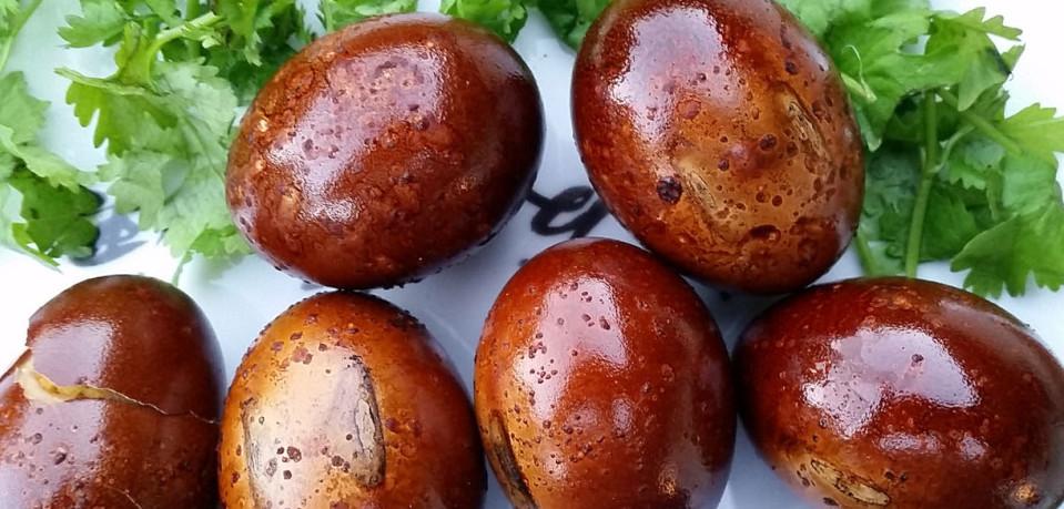 яйца копченые