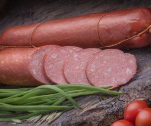 полукопченая колбаса