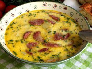 С плавленым сыром