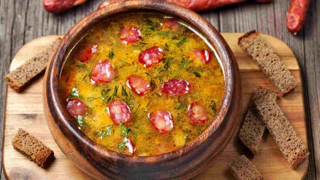суп салями