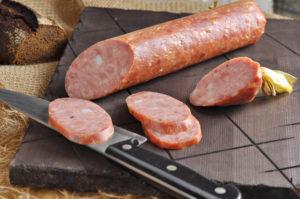 варено-копченой колбасы