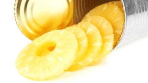 банка ананасов