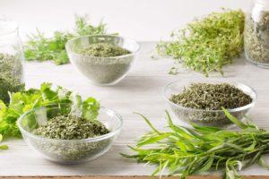 сухие пряные травы