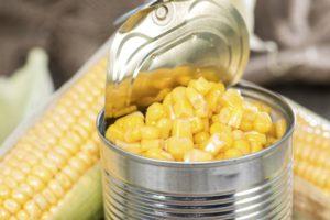 консервированной кукурузы