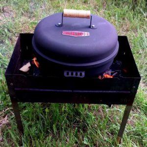 круглая дымница Firewood