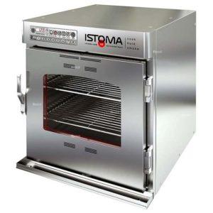удобная печь-коптильня Истома
