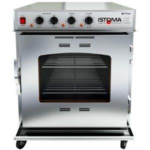 печь-коптильня Истома 190 литров