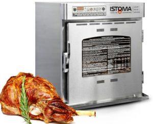 печь-коптильня Истома для вкусных блюд