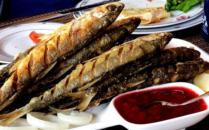 блюдо из рыбы шемаи